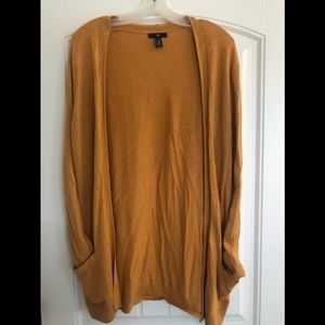 GAP Long Open-Front Cardigan Size M NWOT $40